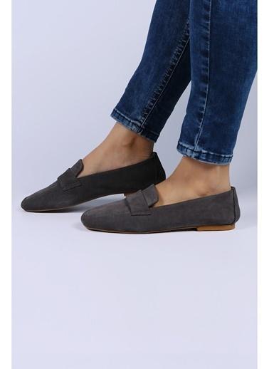 Female Project Loafer Ayakkabı Gri